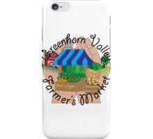 Greenhorn Valley Farmer's Market iPhone Case/Skin