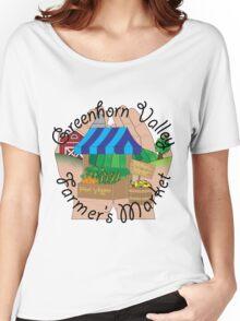Greenhorn Valley Farmer's Market Women's Relaxed Fit T-Shirt