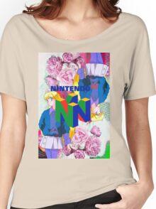 Nintendo Aesthetic Design Women's Relaxed Fit T-Shirt