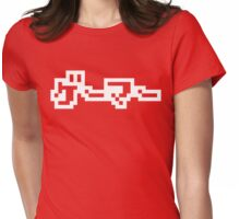 Japanese Gamer ゲーマー Womens Fitted T-Shirt