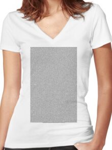 Clueless Movie Script Women's Fitted V-Neck T-Shirt