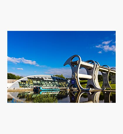 Falkirk Wheel Reflections Photographic Print