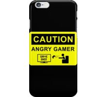Angry Gamer  iPhone Case/Skin