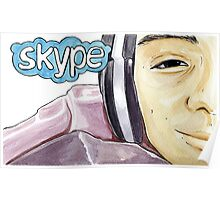 Skype love session Poster