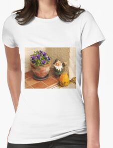 Happy Gnome Womens Fitted T-Shirt