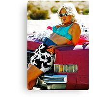 TRUE ROMANCE ALABAMA - You're So Cool ! Canvas Print