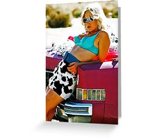 TRUE ROMANCE ALABAMA - You're So Cool ! Greeting Card