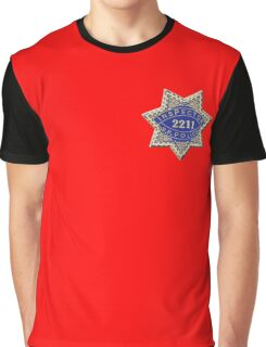 San Francisco Police Inspector Graphic T-Shirt