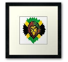 Lion - Jamaican Framed Print