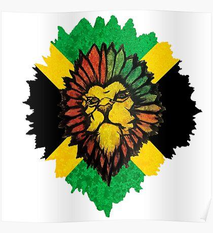 Lion - Jamaican Poster