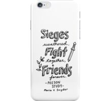 Poison Study Quote Design iPhone Case/Skin