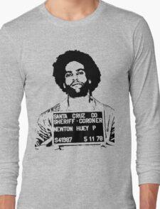 HUEY P. NEWTON-MUGSHOT Long Sleeve T-Shirt