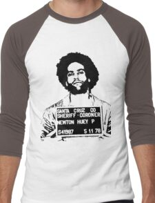 HUEY P. NEWTON-MUGSHOT Men's Baseball ¾ T-Shirt