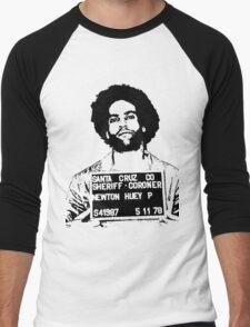 HUEY P. NEWTON-MUGSHOT Men's Baseball ¾ T-Shirt