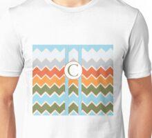 C Chevron Unisex T-Shirt