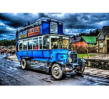 LGOC B-Type Bus B1349 Photographic Print
