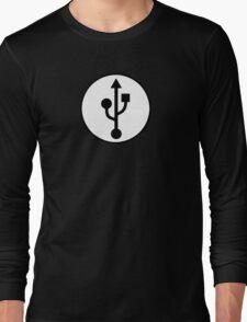 USB SYMBOL Long Sleeve T-Shirt
