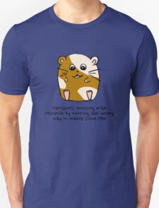 Hamster's messing up science Unisex T-Shirt