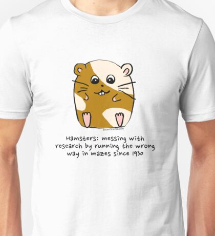 Hamster's messing up science T-Shirt