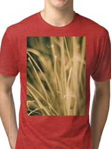 Faded grass Tri-blend T-Shirt