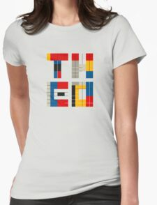 THEO AND ME Womens Fitted T-Shirt