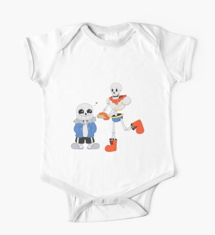 Sans and Papyrus - Undertale One Piece - Short Sleeve
