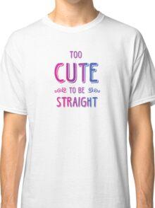2 cute 2bi straight Classic T-Shirt