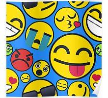 Simple Emojis | Pattern Poster