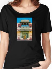 Palace courtyard facade Women's Relaxed Fit T-Shirt