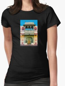 Palace courtyard facade Womens Fitted T-Shirt