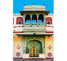 Palace courtyard facade Photographic Print