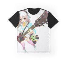 Kawaii Guitarist Graphic T-Shirt