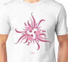 Pink Twirly Unisex T-Shirt