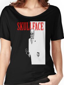 Skull Face Women's Relaxed Fit T-Shirt