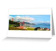 San Francisco Bay Greeting Card