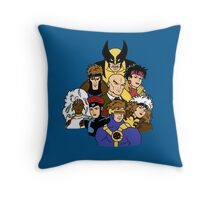 Mutant Family Pillow Throw Pillow
