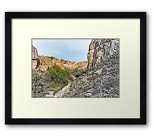 House on a Mountain Framed Print