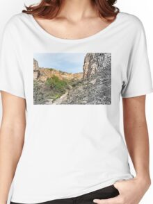 House on a Mountain Women's Relaxed Fit T-Shirt