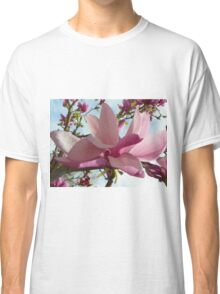 Floral - Japanese Magnolia Macro - Garden Flower Classic T-Shirt