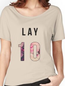 Lay Floral 10 Women's Relaxed Fit T-Shirt