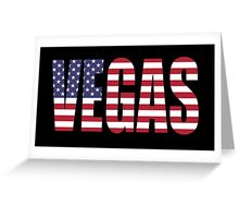 Vegas. Greeting Card
