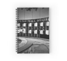 Texas Peace Officers Memorial Spiral Notebook