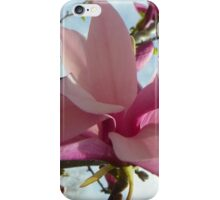 Floral - Japanese Magnolia Macro - Garden Flower iPhone Case/Skin