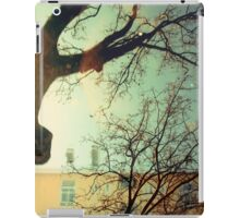 winter trees and apartments iPad Case/Skin