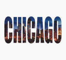 Chicago (Night) One Piece - Short Sleeve