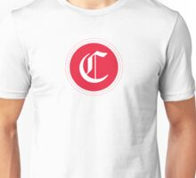 C Red Chevron Unisex T-Shirt