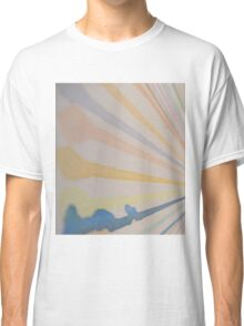 Paint Stripes on off white paper Classic T-Shirt
