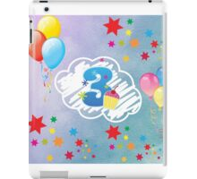 Birthday art iPad Case/Skin