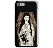 Lady in White by Allie Hartley  iPhone Case/Skin