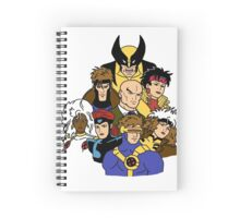 Mutant Family Notebook Spiral Notebook